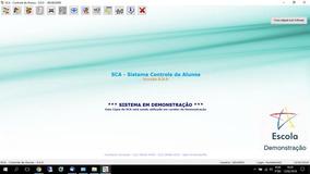 Sca - Sistema Controle De Alunos - Software Escolas