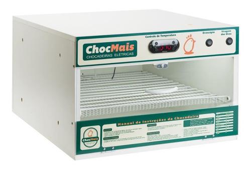 Chocadeira Automática Chocmais 120 Ovos Com Ovoscópio 220v