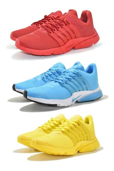Tênis Para Caminhada Nike Air Presto Kit 3 Pares