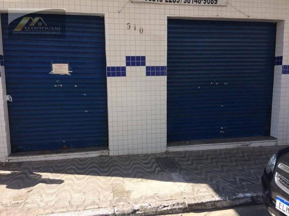 Salão Para Alugar, 70 M² Por R$ 6.000/mês - Boqueirão - Praia Grande/sp - Sl0005