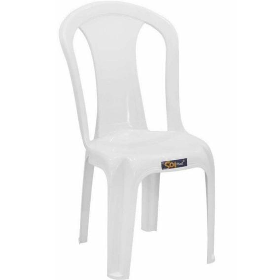 Cadeira Plástica Solplast Bistrô Pratagy