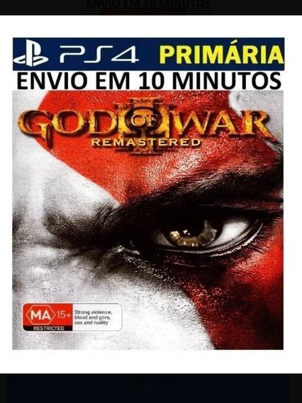 God Of War 3 Remasterizado Playstation 4 Digital