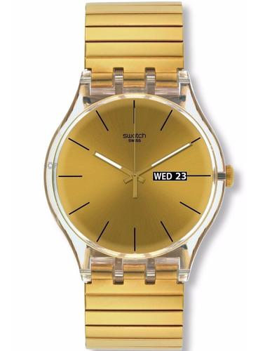 Relógio Swatch Dazzing Light Suok702b