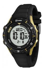 Relógio Xgames Xmppd435 Bxpx Xport Masc Preto- Refinado