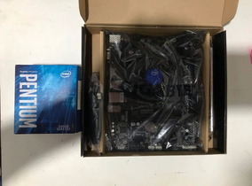 Kit Sétima Geração Com Intel G4560 + Ga-h110-h Ddr4
