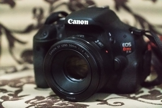 Canon T3i / 600d Usada + Lente Canon 50mm 1.8 Stm