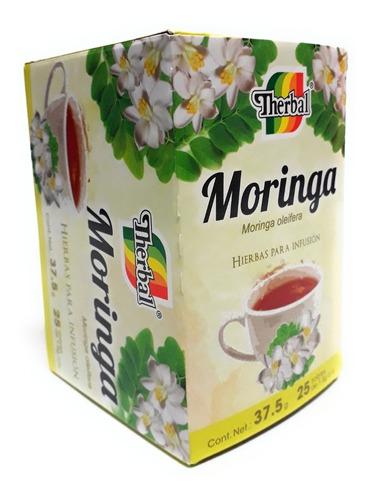Te De Moringa 25 Sobres Therbal Antioxidante Evio Full