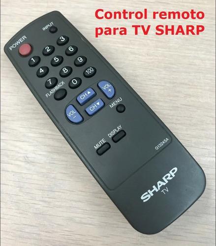 Control Remoto Tv Sharp Convencional Universal G1324sa