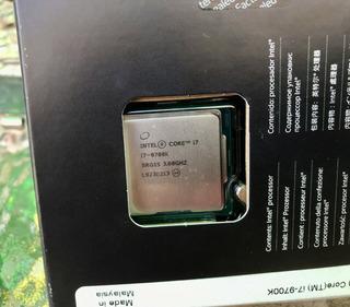 Procesador I7 9700k Lga1151 Como Nuevo
