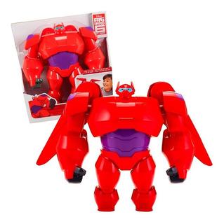 Big Hero 6 Baymax Muñeco Grande Articulado Con Armadura