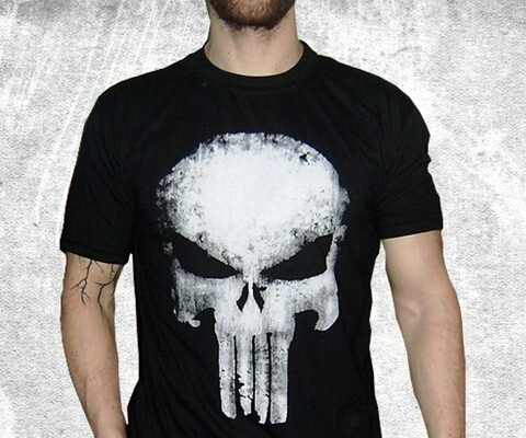 Remera Algodon Punisher