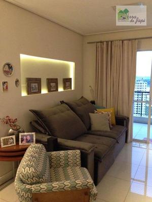 Jd Bonfiglioli - Residencial Abitare - Apto Com 89m2 03 Dorms À Venda, 89 M² Por R$ 690.000 - Jardim Messina - Jundiaí/sp - Ap3245