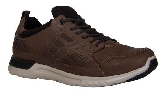 Zapatos Casuales Para Hombre Cafe 24 Walks / 118003-11