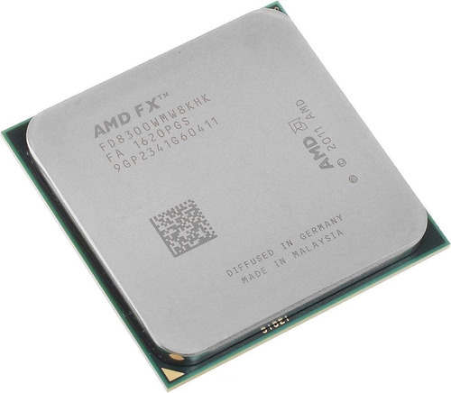 Imagem 1 de 2 de Processador gamer AMD FX 8300 Black Edition FD8300WMW8KHK de 8 núcleos e 3.3GHz de frequência