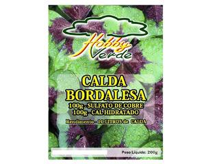 Calda Bordalesa Sulf De Cobre + Cal Agrícola Para 10 Litros