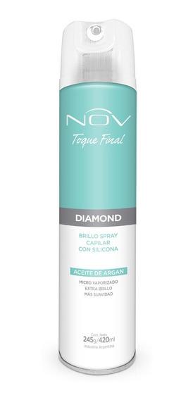 Spray Capilar Nov Diamond Toque Final Con Silicona Y Argan