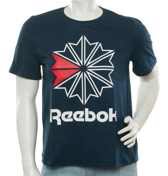 Remera Classic Big Logo Reebok Sport 78 Tienda Oficial