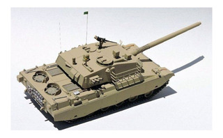 Kit Montar Trumpeter Tanque Osorio Engesa Ee-t2 T1 1/35