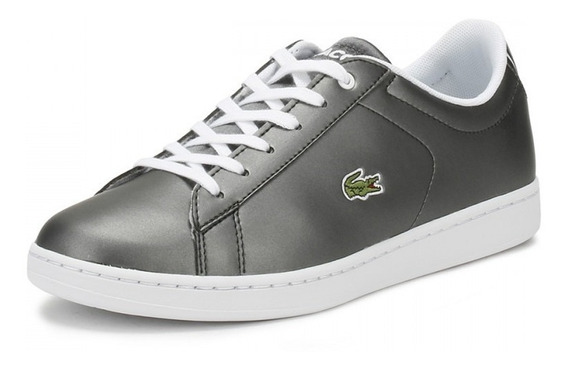 Tenis Lacoste Carnaby Evo Mujer Plata Gucci Coach Madden