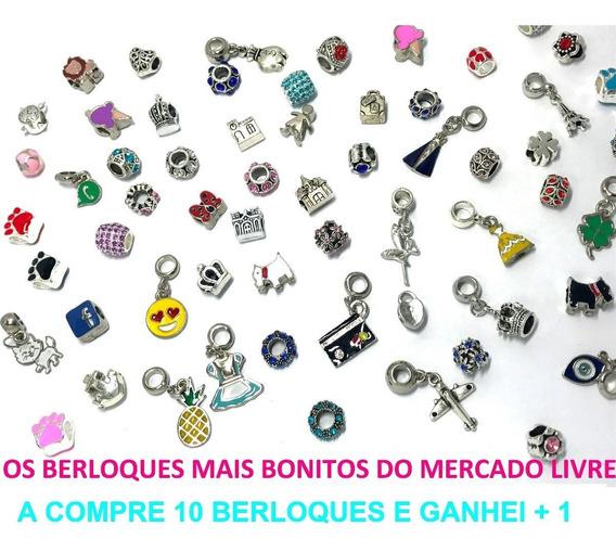 Kit 23 Berloques P/ Bracelete Pingente Pandora Vivara
