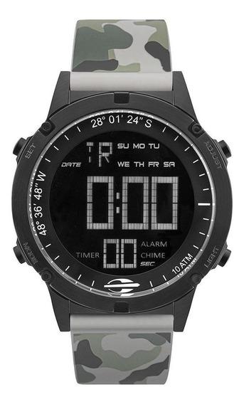 Relógio Masculino Mormaii Mow13901g/8c 46mm Camuflado