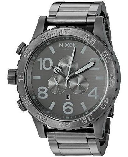 Relógio N-941 Nixon 51-30 Cronos Todo Chumbo Promoção