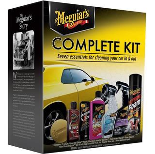 Kit Completo Para El Cuidado Del Auto Meguiar