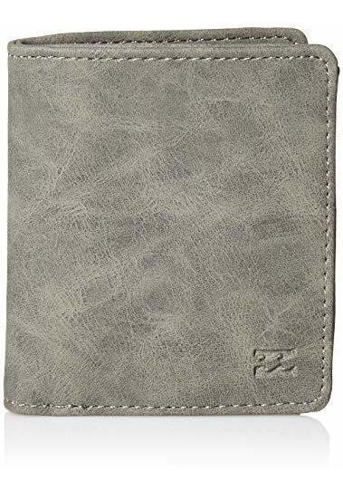 Billabong Men S Gaviotas Pu Wallet Grey One Size