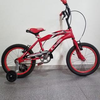 Bicicleta Top Mega Junior Rodado 16 Para Chicos