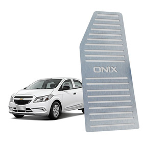Descanso De Pé Chevrolet Onix Todos Os Modelos Aço Inox