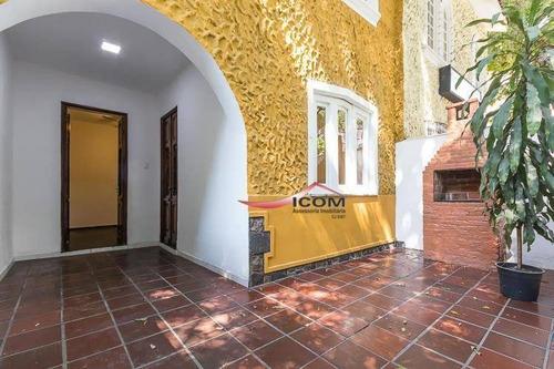 Casa Com 3 Dormitórios À Venda, 170 M² Por R$ 1.390.000,00 - Tijuca - Rio De Janeiro/rj - Ca0263
