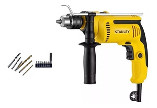 Taladro Percutor 13mm 700w Sdh700ba Stanley + Accesorios