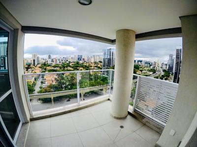 Apartamento A Venda No Bairro Brooklin Paulista Em São - Emb41-1