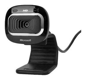 Webcam Microsoft Lifecam Hd-3000 Widescreen Hd De 720p-preto