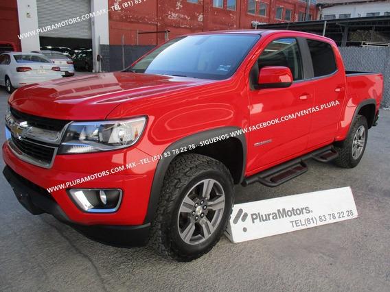 Chevrolet Colorado 2017 Lt 4x4 Doble Cabina Rines $479,000
