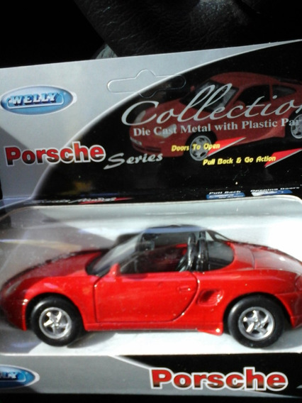 Auto Welly Porsche 911 Carrera Convertible Esc 1:36 Rdf1