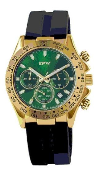 Relogio Masculino Tpw Original Estilo Rolex Oyster Funcional
