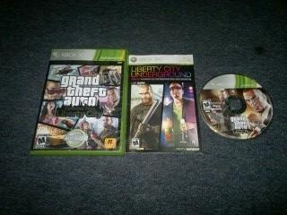 Grand Theft Auto Liberty City Para Xbox 360,excelente Titulo