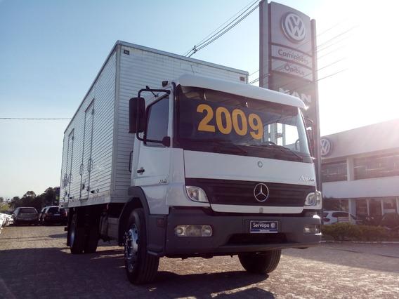 Mercedes Benz. Mb Atego 1418 Ano 2009/09 / Baú Alumínio