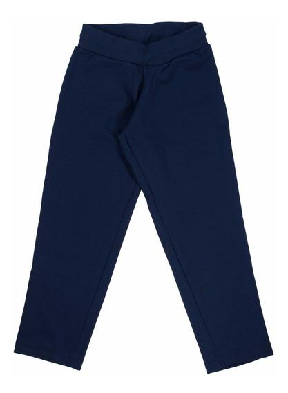 Pantalon Escolar Rustico Corte D Nena Azul Uniforme Colegial
