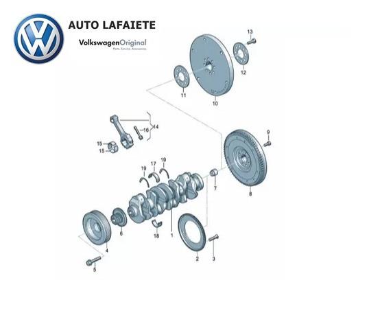 Parafuso Sextavado Wht001760 Original Volkswagen