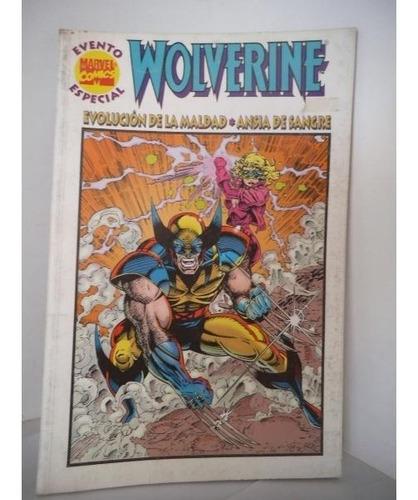 Wolverine Ansia De Sangre X-men Marvel Mexico Intermex