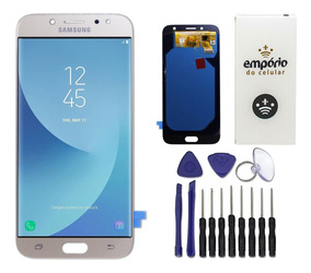 Tela Touch Display Lcd Samsung Galaxy J7 Pro Dourado