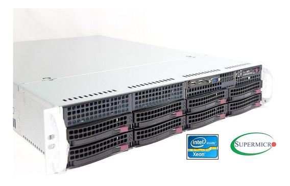 Servidor Rack Dual Xeon Quad Core 2tb 32gb Ram Virtualização