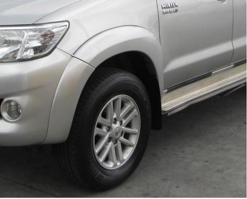 Imagen 1 de 6 de Fenders  Toyota Hilux Vigo 2005-2011  Gris Plata
