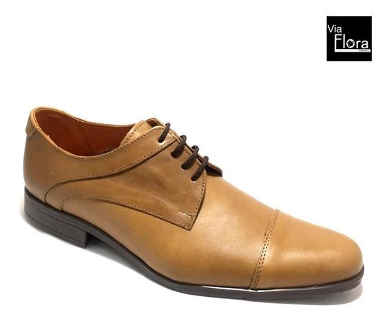Zapato De Vestir De Hombre 100% Cuero Envio Gratis (23/1551)
