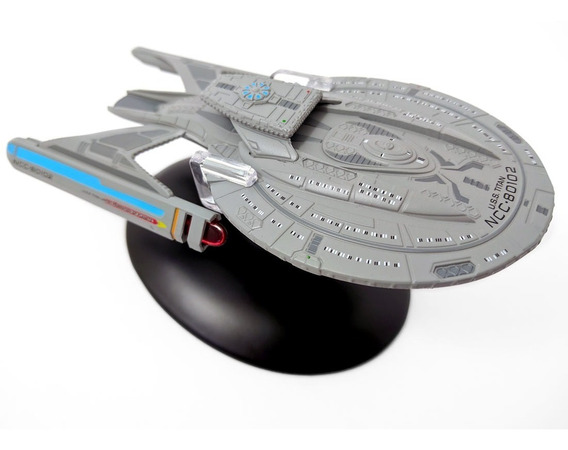 Miniatura Star Trek Uss Titan - Eaglemoss - Bonellihq L19