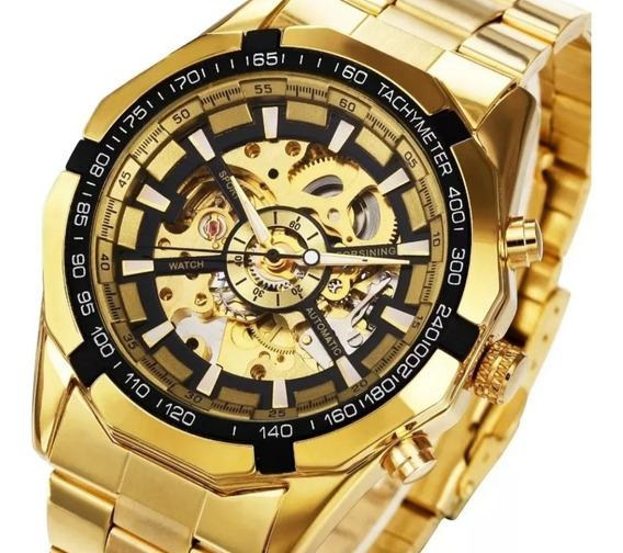 Promoção Relógio Masculino Automático Forsining Original