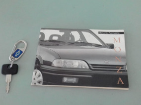 Monza 1995 Gl 2.0 Álcool,3 Dono,manual,chave Reserva,coleção