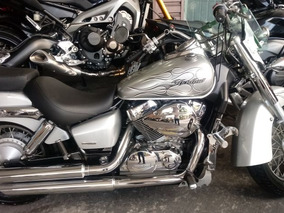 Honda Shadow 750 2008 Prata Gasolina